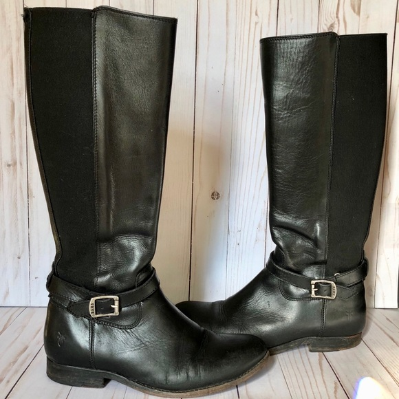 c378d52d6bfd Frye Shoes - Frye Melissa Gore Zipper Riding Boot - Round Toe